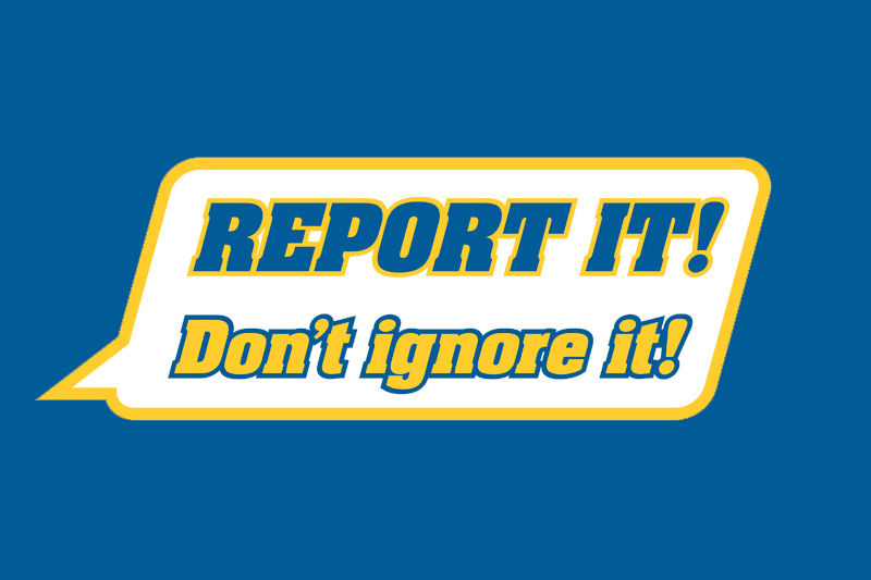 See It, Hear It, Report It